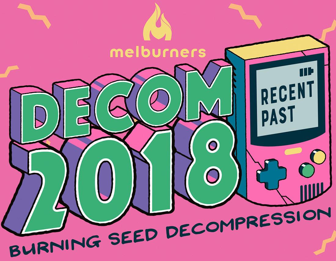 Decom 2018 event artwork
